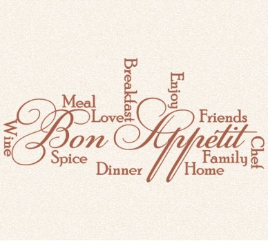 Бон Апети, Добър апетит