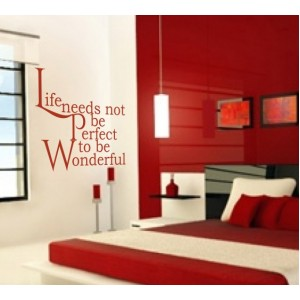 Стикер за стена | Дневна, Хол, Антре  | Животът Чудесен