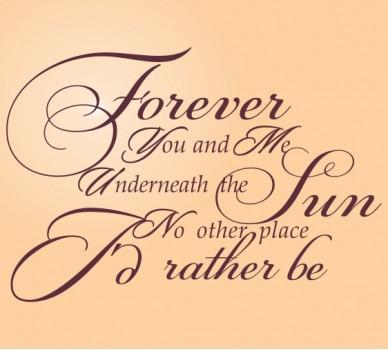 Завинаги ти и аз