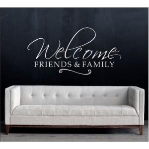 Стикер за стена | Семейство, Любов  | Добре дошли 58201