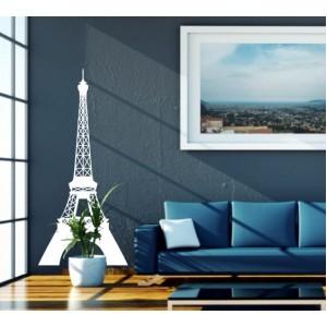 Стикер за стена   Световни марки    Айфелова кула