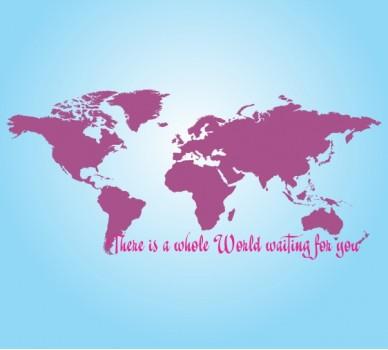 Цял един свят те очаква