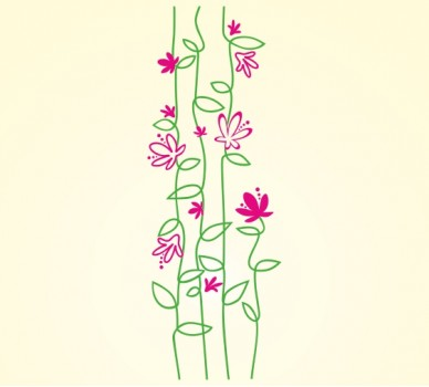 Стилизирани цветя 608
