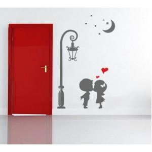 Декорация за стена | Небе  | Невинна целувка