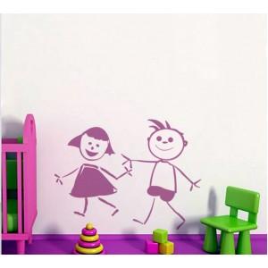 Деца, Рисунка