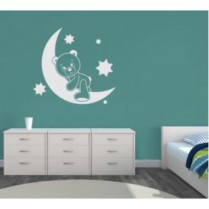 Декорация за стена | Небе  | Серия Мечета 17, На луната