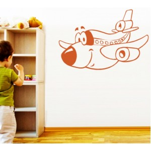 Стикер за стена | Самолети  | Самолетчето от Криле