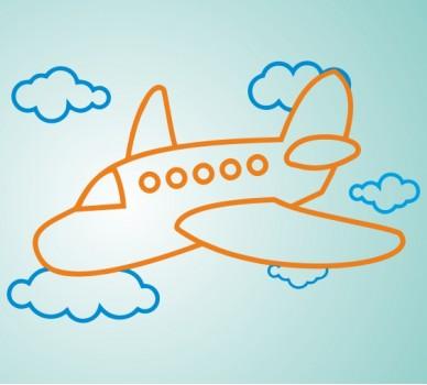 Самолет 14, В облаците
