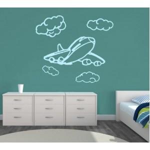 Стикер за стена | Самолети  | Самолетче 15