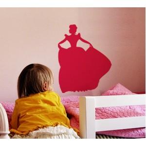 Стикер за стена | Феи  | Принцеса 674, Танцуваща