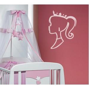 Стикер за стена   Феи    Принцеса, контури