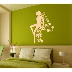 Стикер за стена | Феи  | Фея на цветята 682