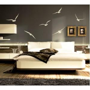 Стикер за стена | Животни  | Птици 74001, В полет