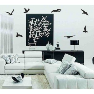 Стикер за стена | Животни  | Птици 74002, В полет