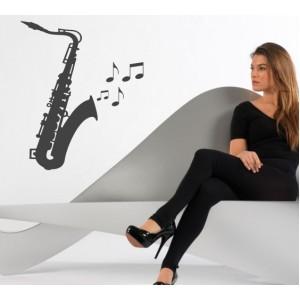 Стикер за стена | Музика  | Саксофон