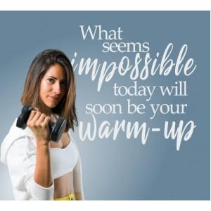Каквото изглежда невъзможно