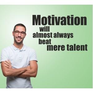 Стикер за стена | Фитнес | Мотивация и талант