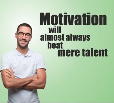 Мотивация и талант