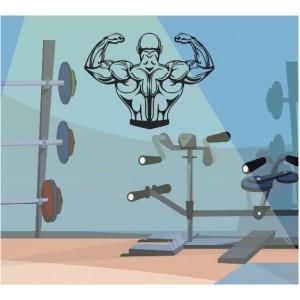 Стикер за стена | Фитнес | Бодибилдинг 204