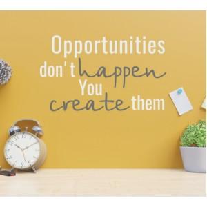Възможностите не се случват