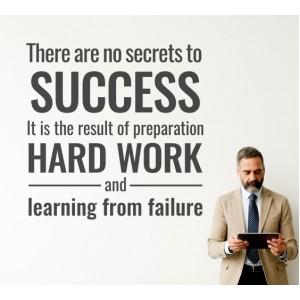 Няма тайни за успеха