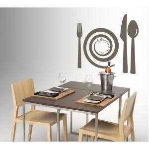 Стикер за стена | Кухня  | Добър апетит 971401 Спирала