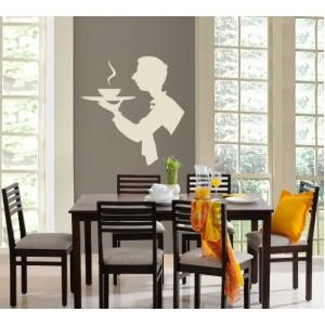 Декорация за стена | Ресторант | Сервитьор