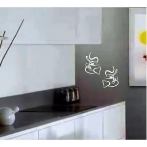Декорация за стена | Картинки | Чаши кафе