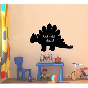 Декорация за стена | Детска стая  | Черна дъска, Динозавър