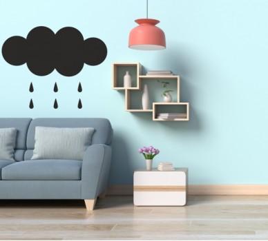 Черна дъска, Дъждовен облак