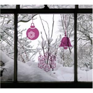 Стикер за стена | Коледни  | Играчки за елха