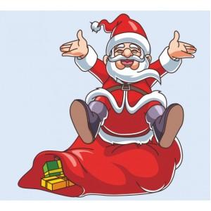 Дядо Коледа се смее