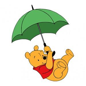 Мечо Пух, Лети с чадърче 46420