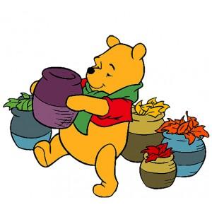 Мечо Пух, Носи гърне с мед