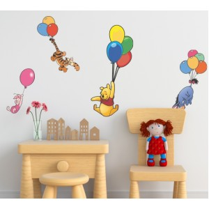 Декорация за стена | Мечо пух  | Мечо Пух и приятели 46459102