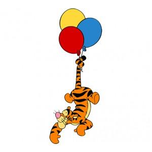 Мечо Пух, Тигър лети с балон