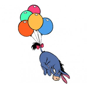 Мечо Пух, Йори лети с балон
