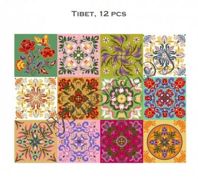 Тибет, 12 бр.