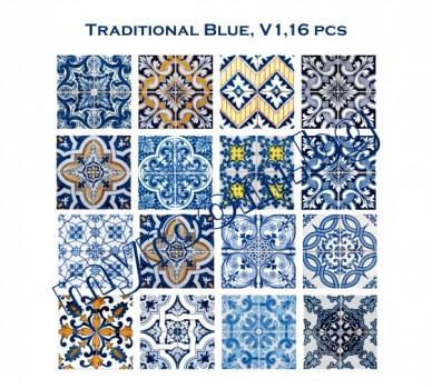 Традиционно сини, 16 бр.