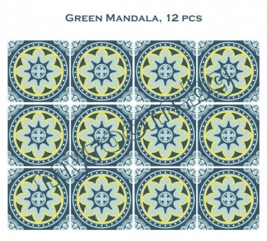Зелена Мандала, 12 бр.
