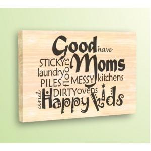 Добрите майки, дърво