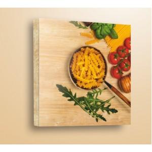 Стикер за стена | Дърво | Паста и рукола