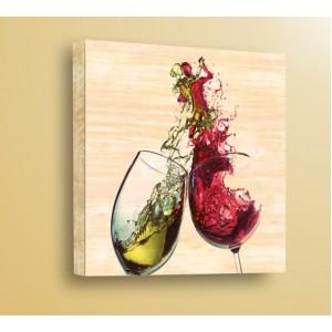 Стикер за стена | Дърво | Танц във виното