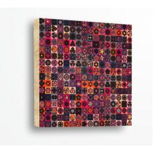 Стикер за стена | Форми, Дърво | Етно Мотиви 21009