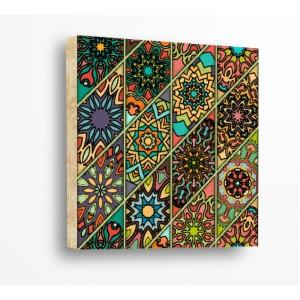 Стикер за стена | Форми, Дърво | Етно Мотиви 21104