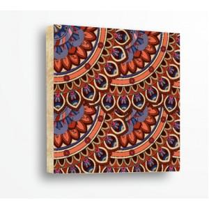 Стикер за стена | Форми, Дърво | Етно Мотиви 21350