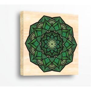 Зелена Мандала 216358
