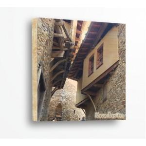 Стикер за стена | Градове, Дърво | Ковачевица 3002