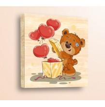 Детски картини дърво