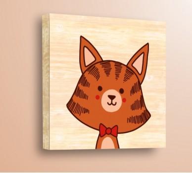 Стикер за стена Диви Животни, Тигър